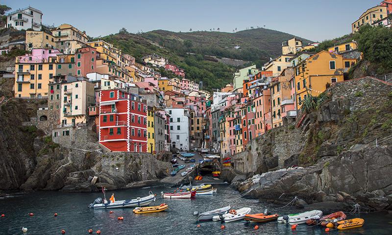 Riomaggiore Coast Scene